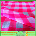 Check Nano Crepe Chiffon Fabric/Plaid Nano Crepe Fabric