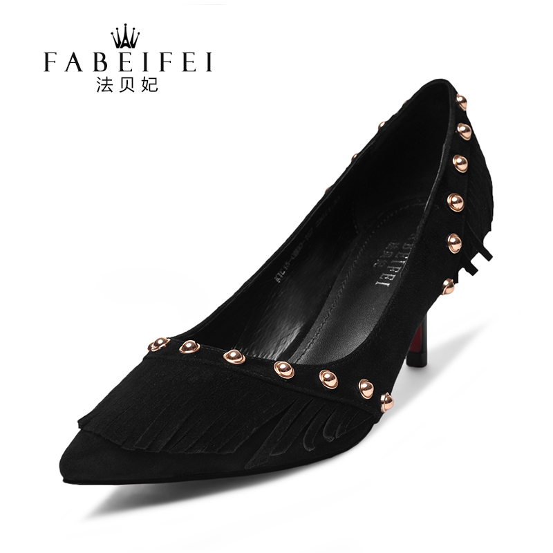 D018 ladies fancy 5.3cm low heel best walking dress shoes for women