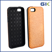 [GGIT] 3D Pixel Electroplating 2 in 1 TPU+PC Cover Case For IPhone 5G 5S SE