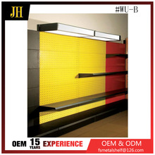 High quality metal display shelves used for shops