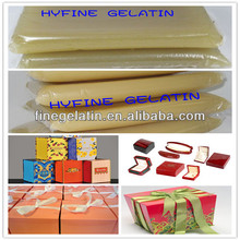 Animal Safe Jelly Glue/Hot Melt Adhesive For Gift Boxes