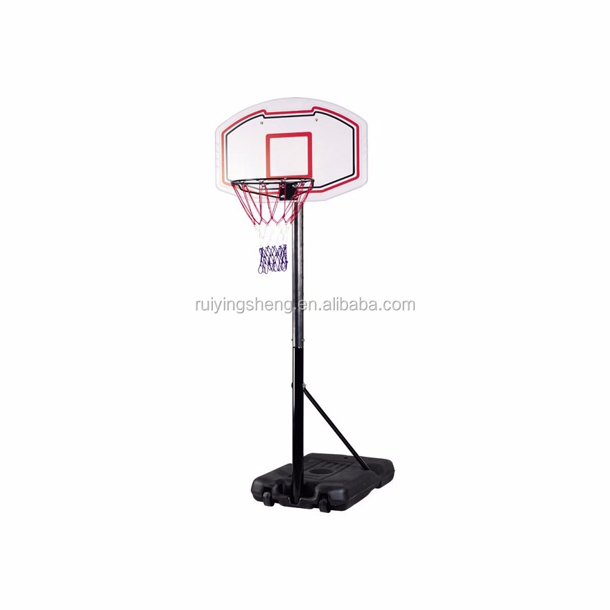 Durable Standard Outdoor Basketball Stand with PP Basketball Backboard