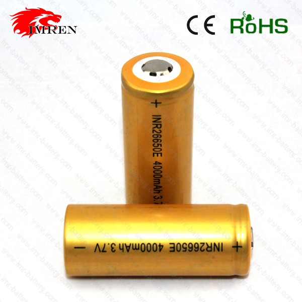 High Capacity Rechargeable Samsung INR 26650E 4000mah Li ion Lithium Li-polymer Batteries SAMSUNG 3.7V cells