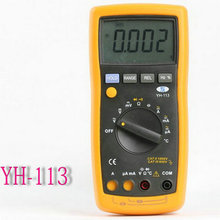 Auto/Manual Ranging Digital Multimeter YH-113 With Frequency