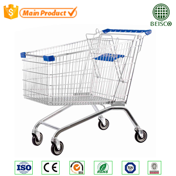 Hyper retail chain store and Super market cheap shopping trolley