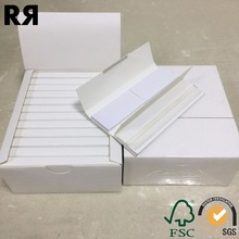 Richer custom brand Unbleached/White Filter Tips Smoking Cigarette Rolling Paper
