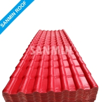 Environmental Friendly Synthetic Resin ASA PVC French Roof Tile