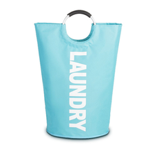 Wholesales Foldable Laundry Basket With Metal Handle Multi-function Oxford Fabric Laundry Bags