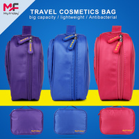 2016 New arrive polyester good quality travel hanging purple duffle bags