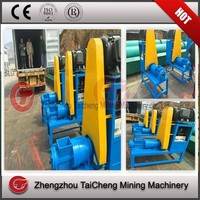 Rice husk charcoal bar briquette making machine