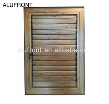 High quality manual controlled aluminum window shutter