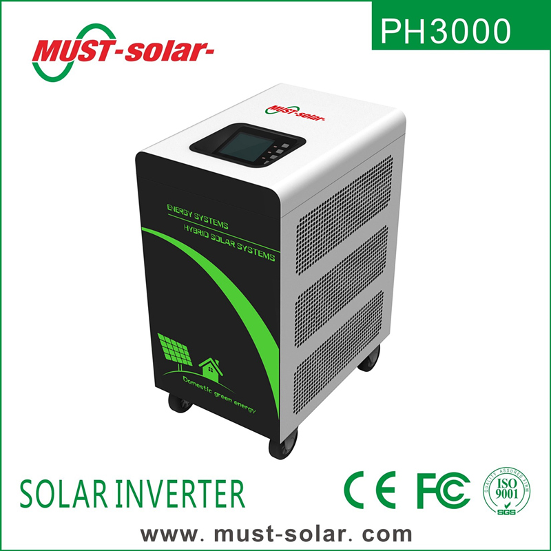 < Must Solar> PH3000 series 9kw 12kw 48v on off grid pure sine wave solar power ups inverter