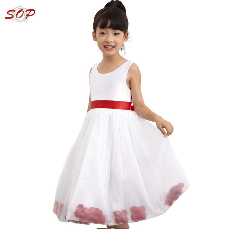 Flower girl dress of 9 year old kids wedding dresses