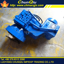 motor grader wheel loader spare parts WG180 transmission/gearbox assembly/assy for sale
