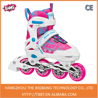 strap on roller shoes high quality low price inline roller skate for adults