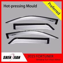 Styling window visor for toyota FORTUNER 2015 2016 import car accessories