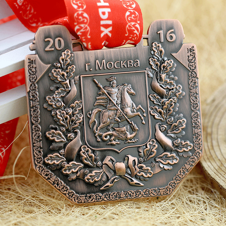 Custom 3d cheap professional metal weightlifting sports medal