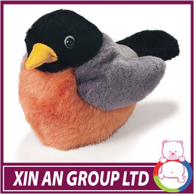 high quality infant plush bird toys for kids