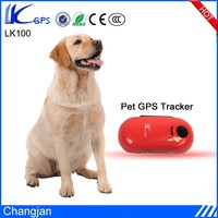 LK100 Longtime Standby Portable Gps Pet Tracker With Free Web Location and APP