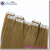 100% Double Drawn Human Hair Extension blue tape hair extensions black