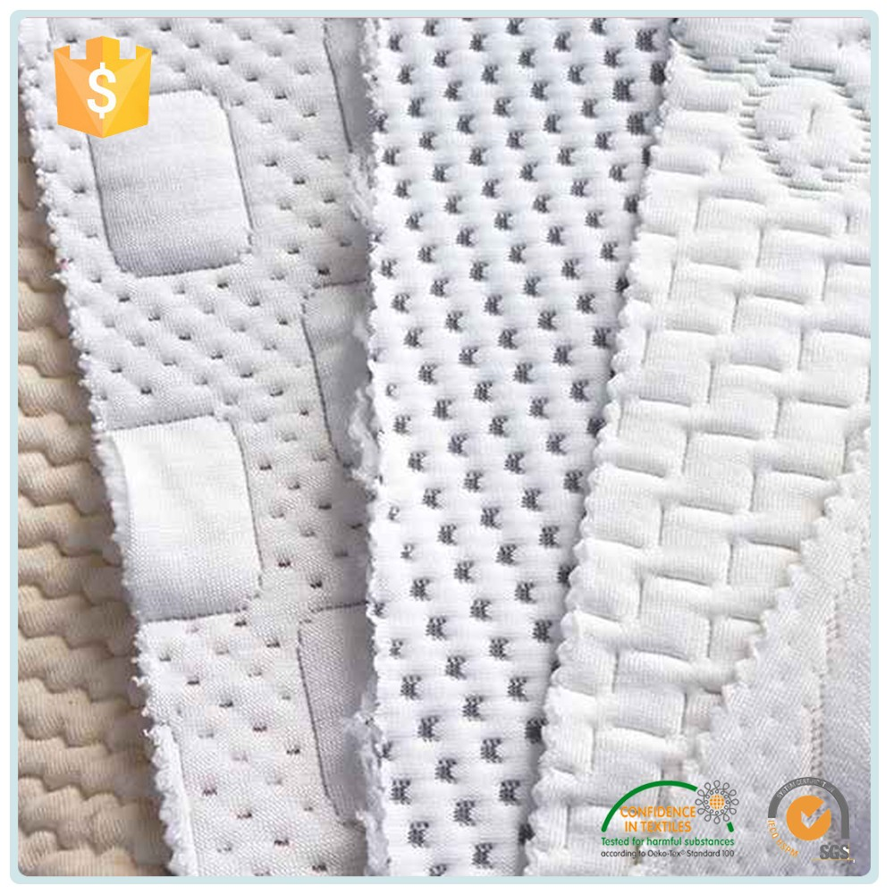 New Design Fashion Low Price Fabric Mattress Cover / Waterproof 100% Lanimated Print Knitted Fabric