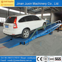 15 ton hydraulic forklift loading unloading ramp