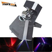 Stage music system nightclub design 2pcs RGBW effect dj laser led disco lights party lighting