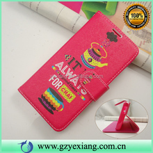 PU Leather Custom Mobile Phone Accessories For Samsung Galaxy Grand Prime Case