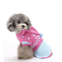 Pet Clothes The Christmas Cat Dog Knit Sweater Hoodies Dog Accessories Dog Apparel Halloween Pet Sweatshirt With Hat