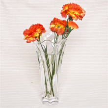 High Quality Clear Glass Decorative Long Stem Flower Vase For Sale
