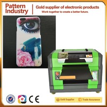Shanghai Pattern A3 flatbed uv led mobile phone case 3d printer with competitive price