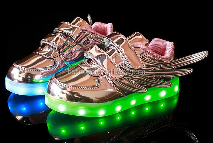 2016 New style led shoes for kid