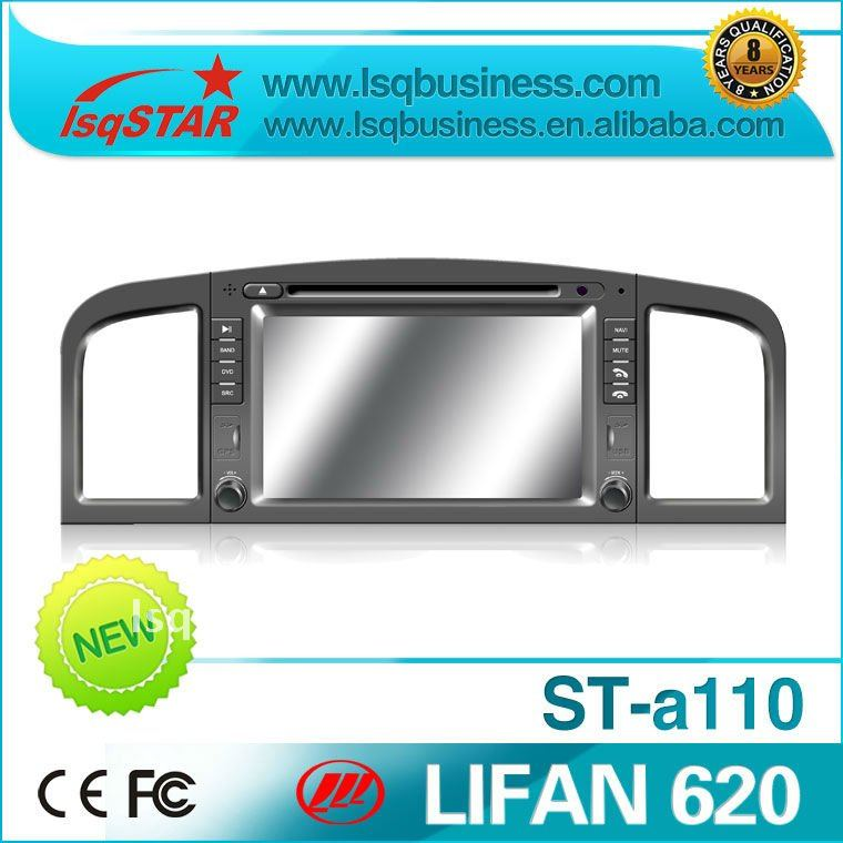 special Lifan 620 car DVD with GPS, bluetooth, RDS, SD, USB, IPOD support, FM, TV and other functions