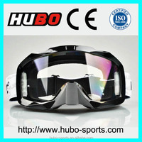 best anti fog anti scratch PC lens dirt bike goggles with nose guard