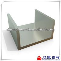 Aluminium box section enclosures