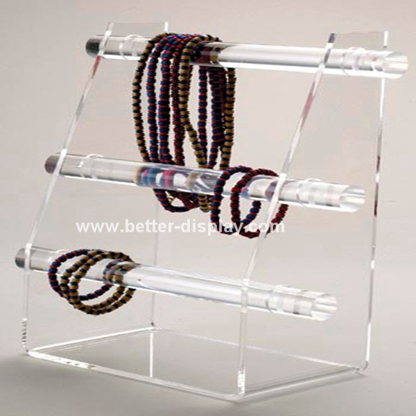 Custom Clear Acrylic Plexiglass Perspex Bangle Holder