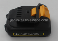 12v 1500mah li-ion cordless dewalt power tool battery pack DCB120