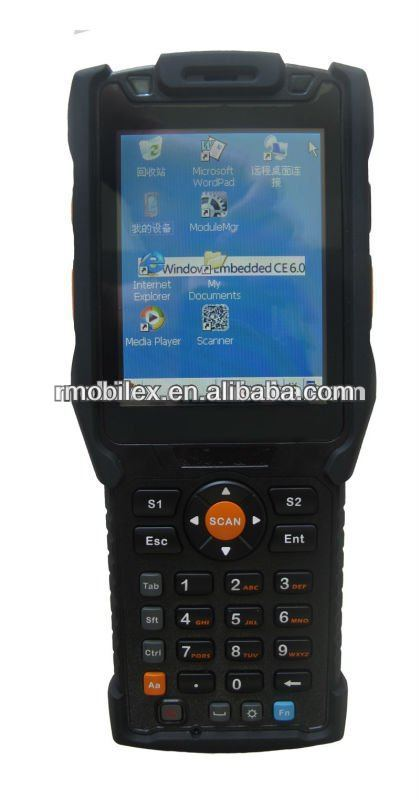 Customized handheld USB port terminal with LF RFID reader GPS and GPRS (MX9500)