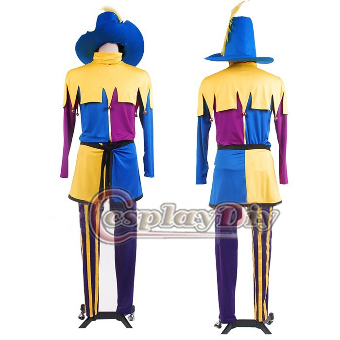 The Hunchback of Notre Dame Clopin cosplay costume for halloween