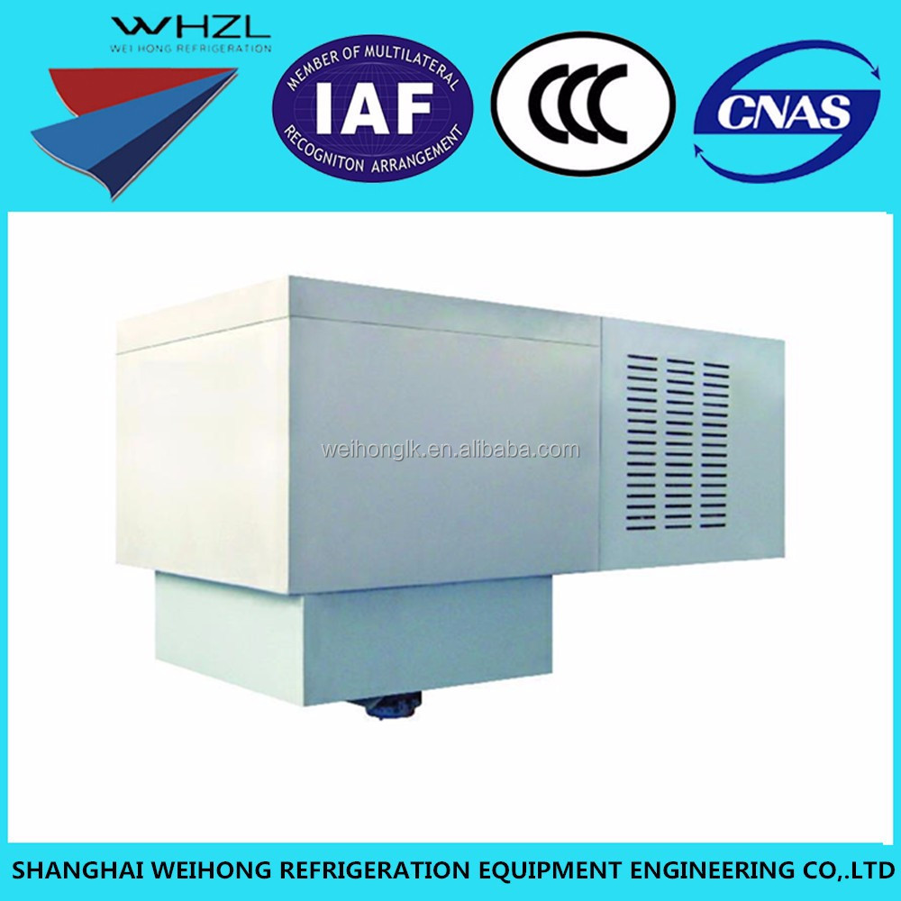 Industrial Using Roof Mounted Refrigeration Unit For Cold Room