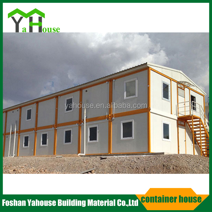 Chinese low cost modern mobile camp container home kit design prefabricated house
