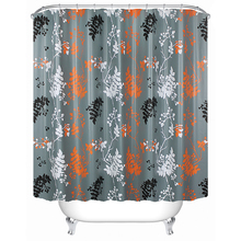 plastic shower curtain fancy bathroom curtain