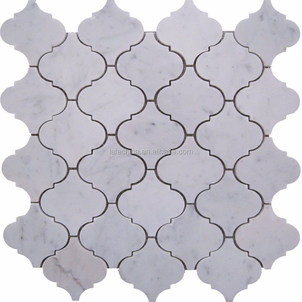 2017 High Quality Irregular Gray Color Latern Ceramic Mosaic Tiles