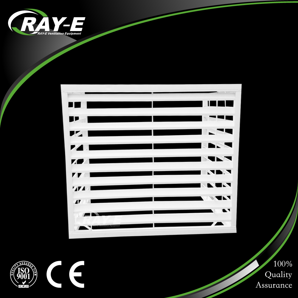 aluminum wall mounted decorative outdoor air conditioner cover waterproof air louver cover