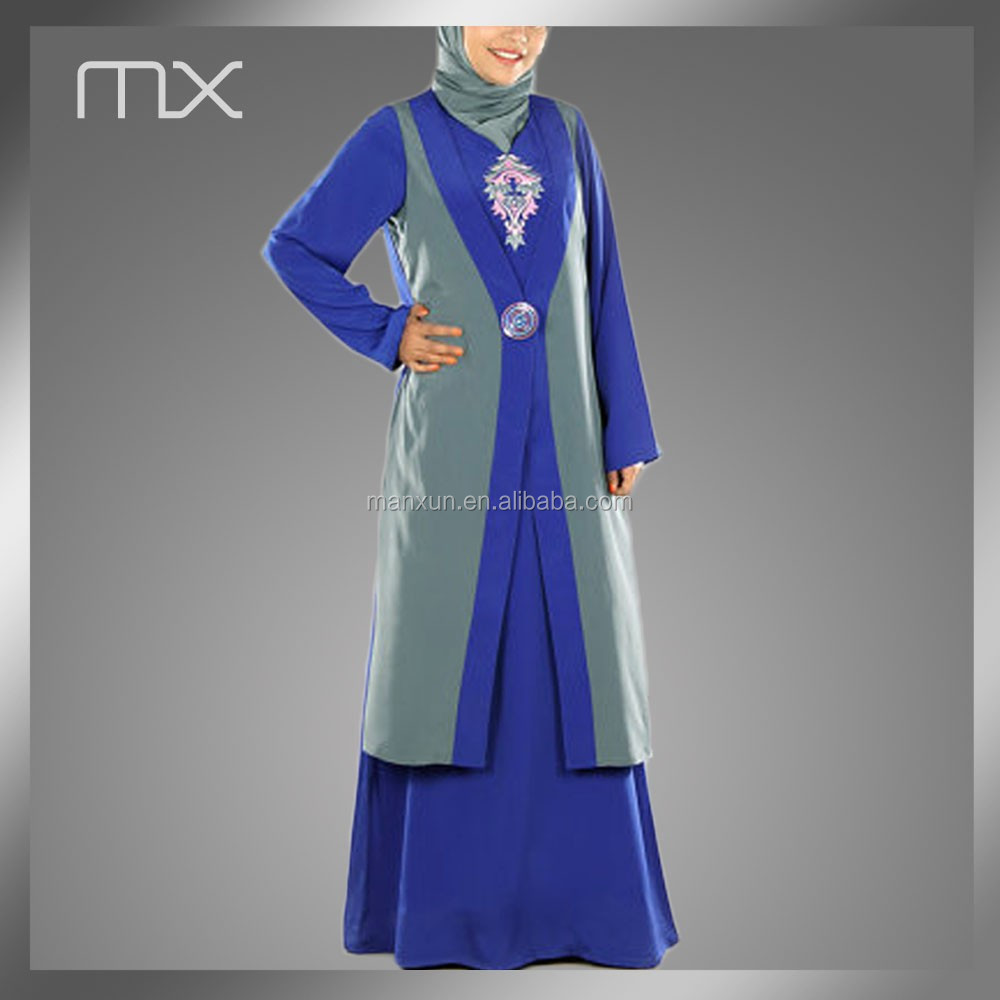2015 Abaya Wholesale Online Shopping New Muslim Design Of Jeddah