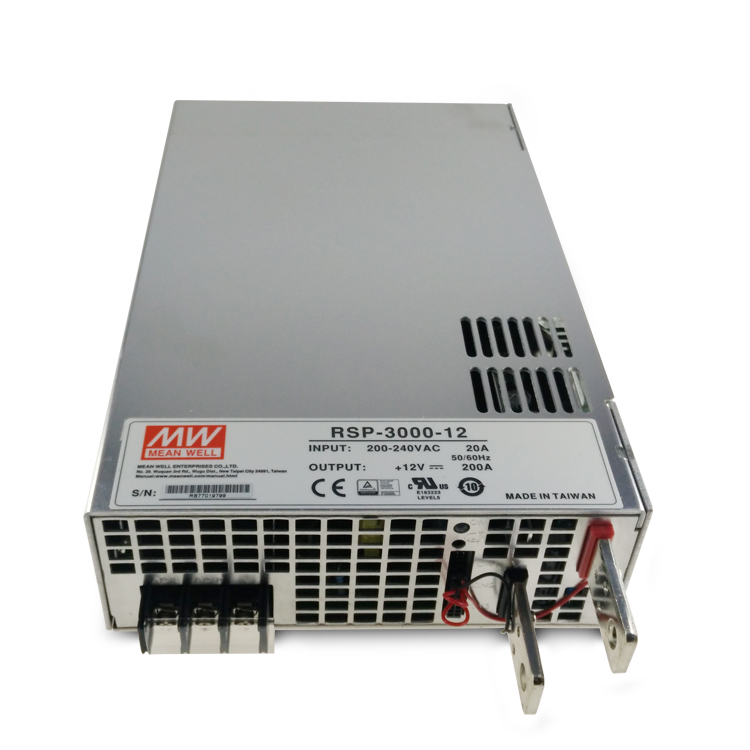 3000W 48V output MW power supply RSP-3000-48