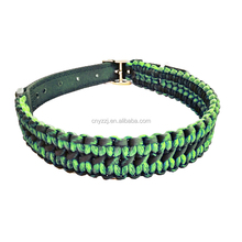 Hot Sale Wholesale Paracord 550 Rope Dog Cat Collars with Buckle