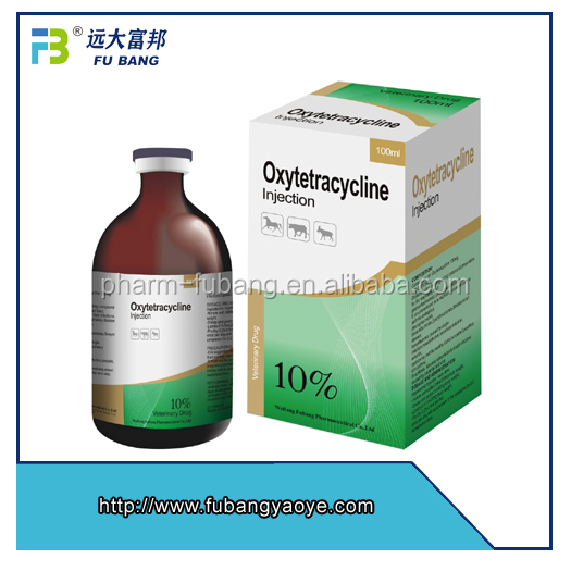 10% Oxytetracycline Injection for sheep care pig treatment