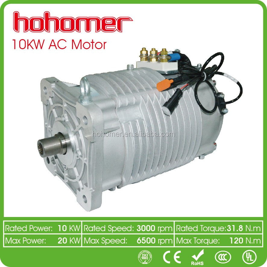 Three Phase Asynchronous High Quality Electric Motor 10KW 72V conversion kit for ev