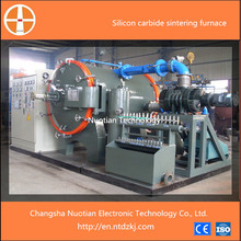 Simple operation resistance or induction type vacuum silicon carbide sintering furnace